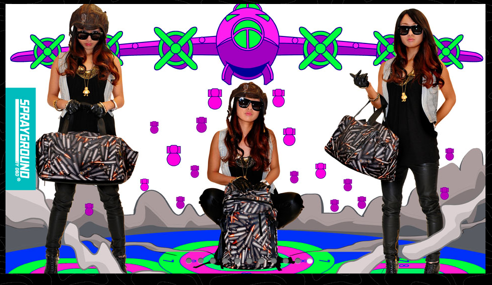 Sprayground LOOKbook that I shot for 2012. Check it out! And the Video of the shoot.