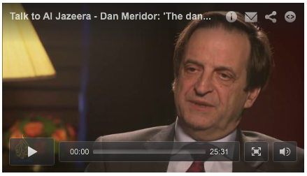 "Deputy Israeli Prime Minister Dan Meridor Admits Iran's Ahmadinejad Never Vowed to ""Wipe Israel off the Map"". See full story below."