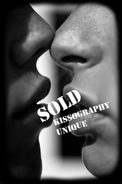 SOLD. Kissography Unique. 16x24in on photocanvas mixed with acrylic. ©Victor Spinelli