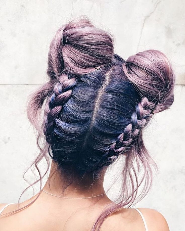 the space buns - Source: Pinterest