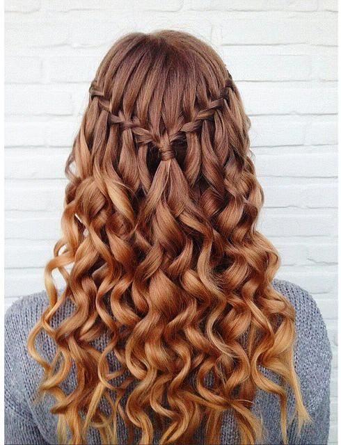 the half braided waves - Source: Pinterest
