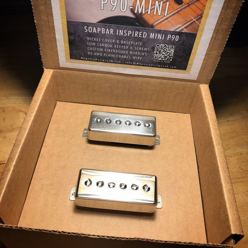 P90-MIni Set · Polished Nickel