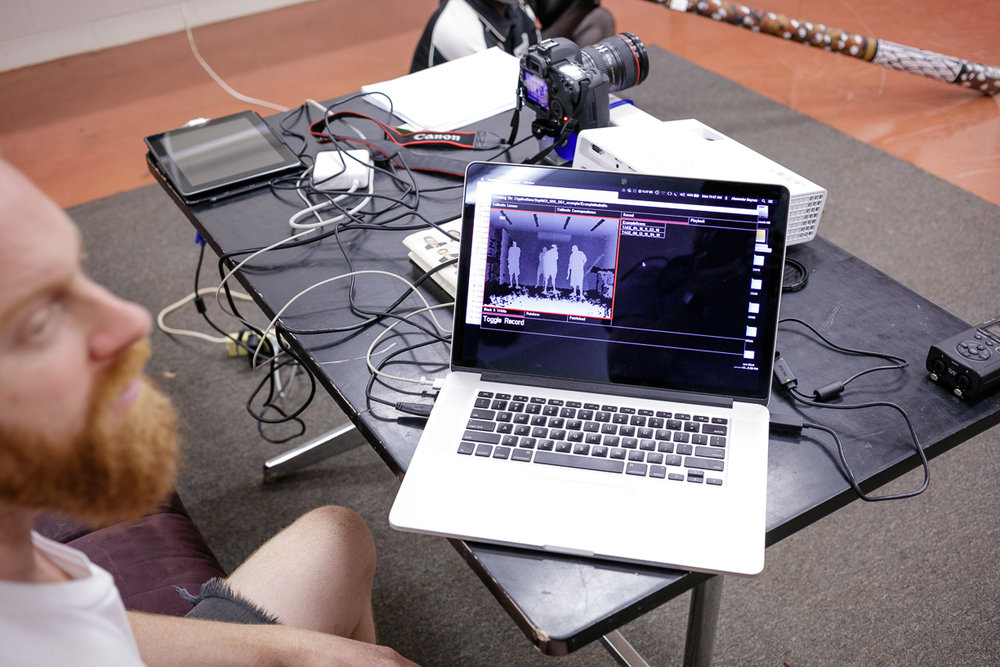 Alexander Boynes filming Digital Performance. Photo Hugo Sharp.jpg