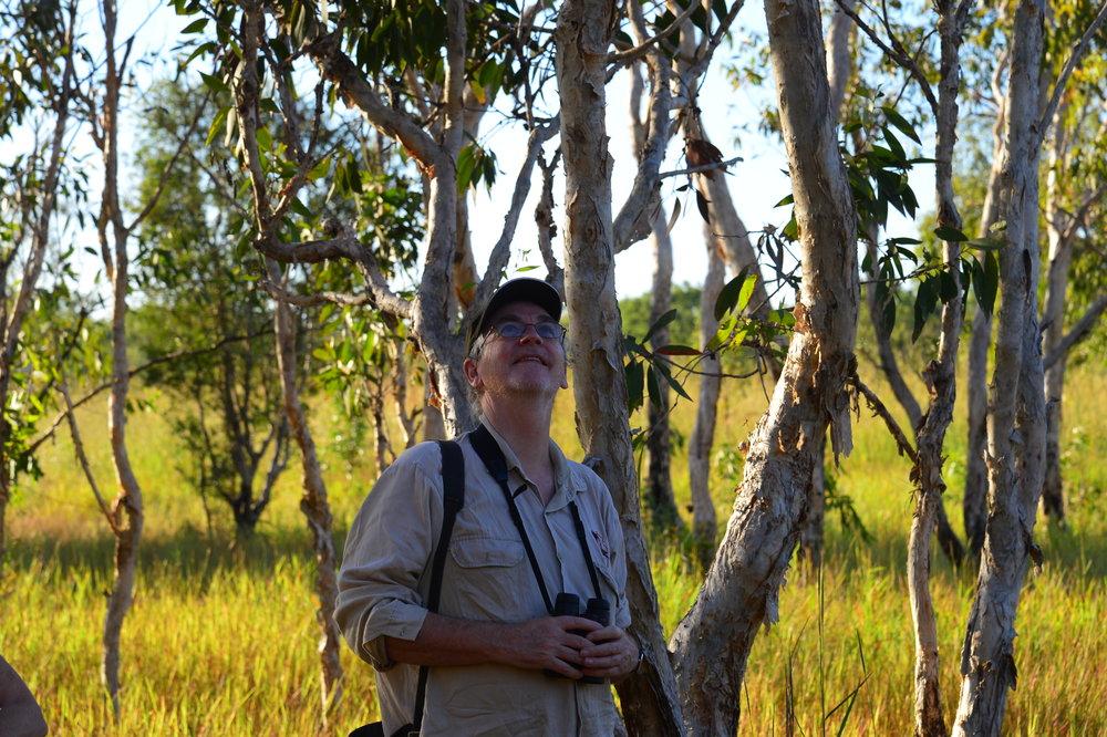 John Woinarski, Woodland Photo Guy Fitzhardinge.JPG
