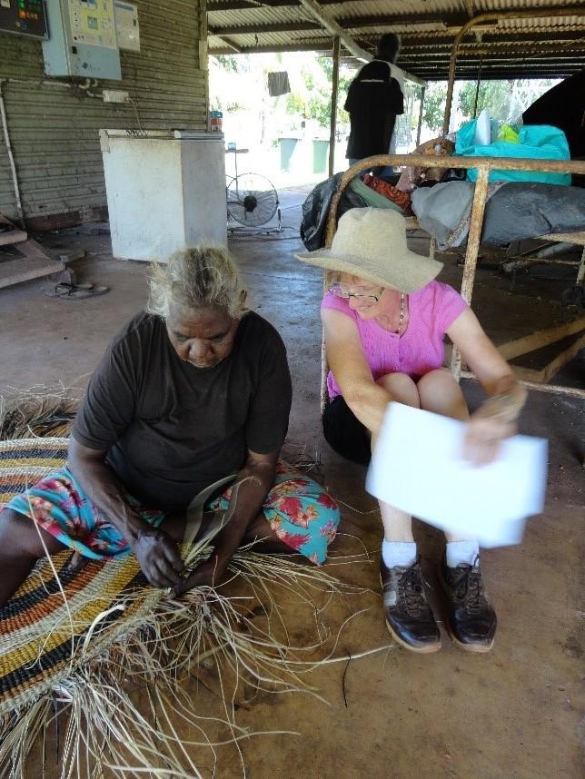 Pat Gamannga and Sally Rickards. Photo David Lece.jpg