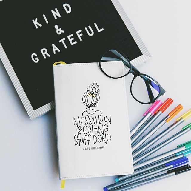 My heart is bursting over all your shares and love of the planners!!! For those who are new here.. these planners sold out within a few hours when they went live even though I had a TON of them. It took a little bit to make more and get them delivered but they are finally making the way to all your homes. And the best part is that you can start and stop them as much as you'd like so no wasted pages ever! I have a small shipment coming in a few weeks so if you'd like to snag one and not have to stress about launch day and setting alarms and stuff, you can preorder one on my website and then it will just magically ship and end up on your doorstep as soon as I get my hands on them. I also posted a blog post about my thought process and all it's details if you want to read more about it. And a huge big fat juicy thank you to all those sharing your love of the planners and sending you friends my way. It means the WORLD! Thank you. 💛☺️ #radandhappyplanner
