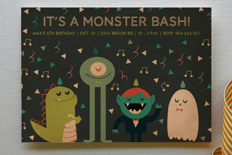 It's A Monster Bash : Minted