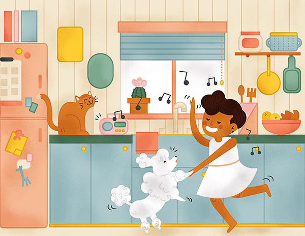 In This Kitchen We Dance : Retrosupply