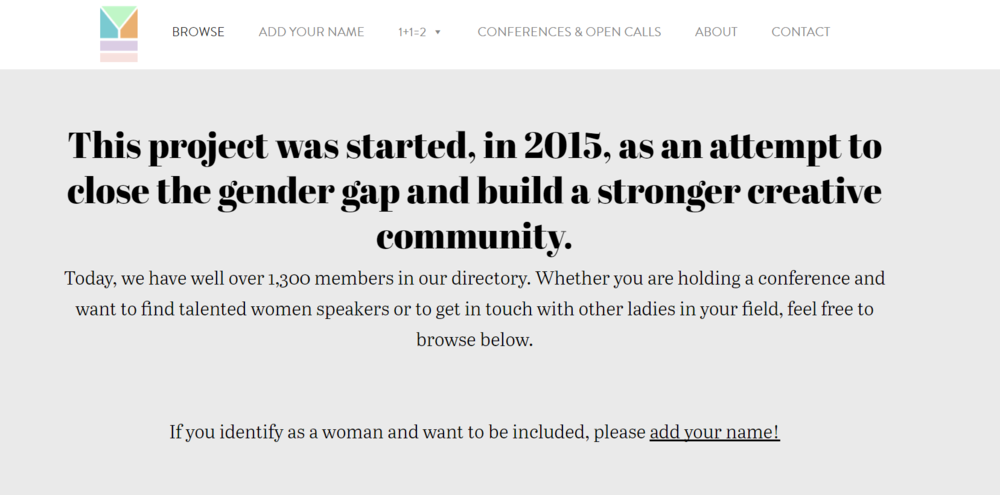 No more all-male panels at conferences. Find qualified female speakers to add a fresh perspective to your line-up.