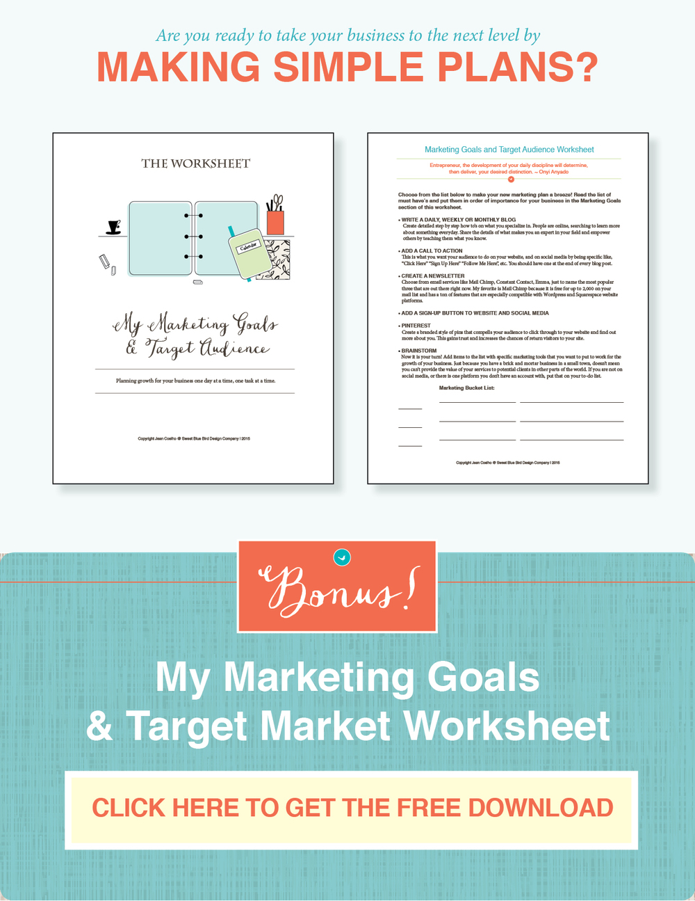 target-market-and-marketing-goals-worksheet