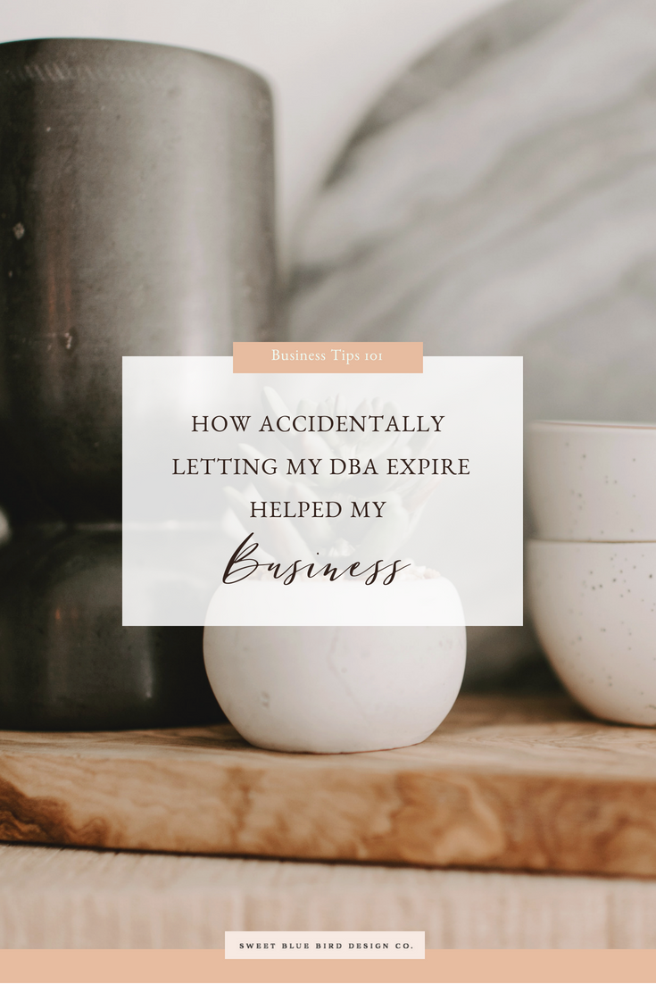 How Accidentally Letting My DBA Expire Helped My Business