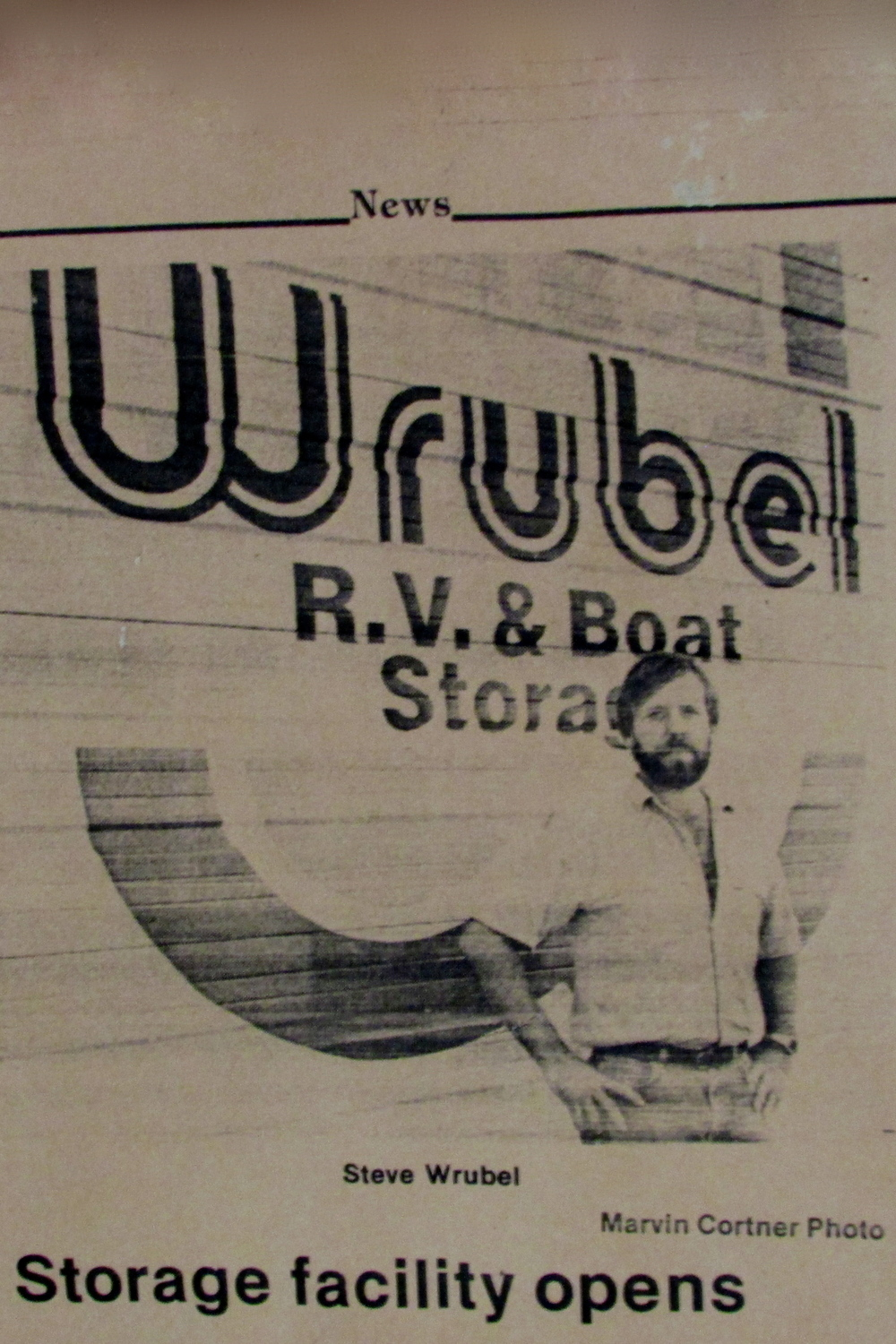 Wrubel Storage - Est. 1989, is located in Monroe County Illinois