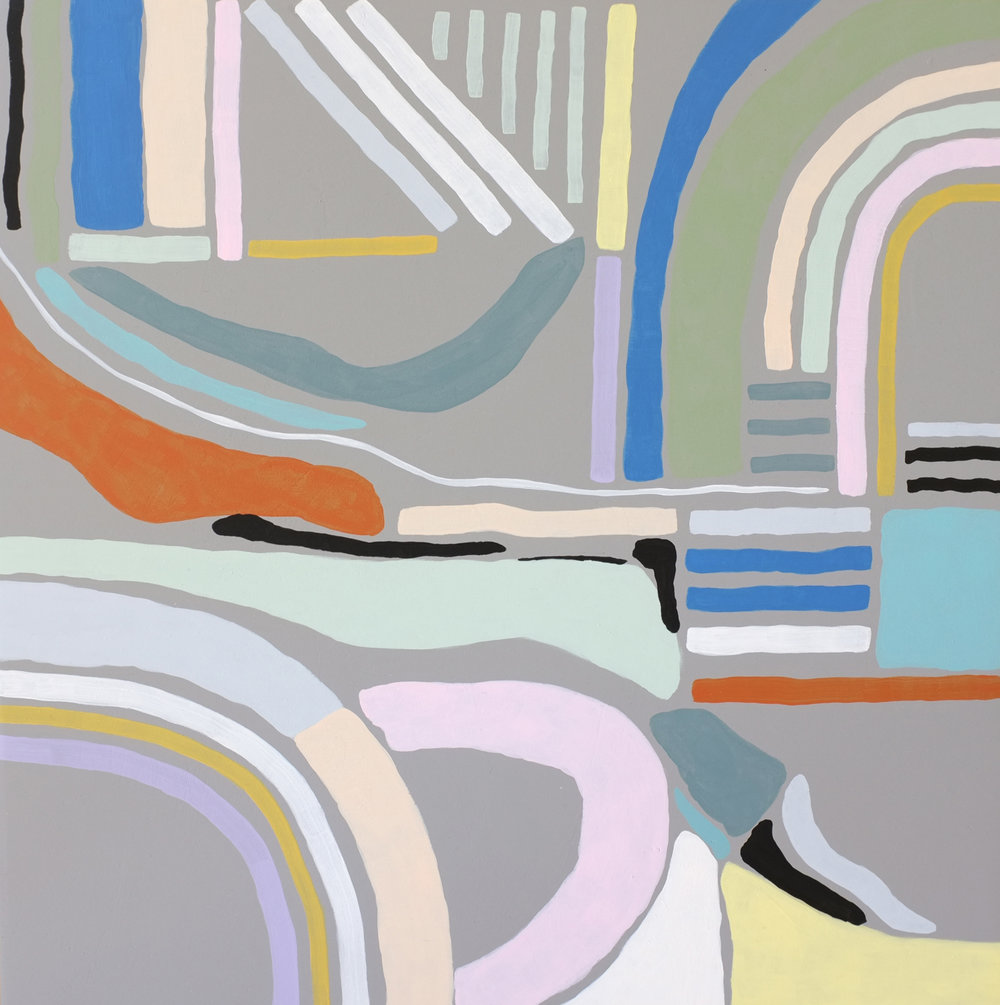 Andrea Shaw_Second on the right_enamel and acrylic on board.jpg