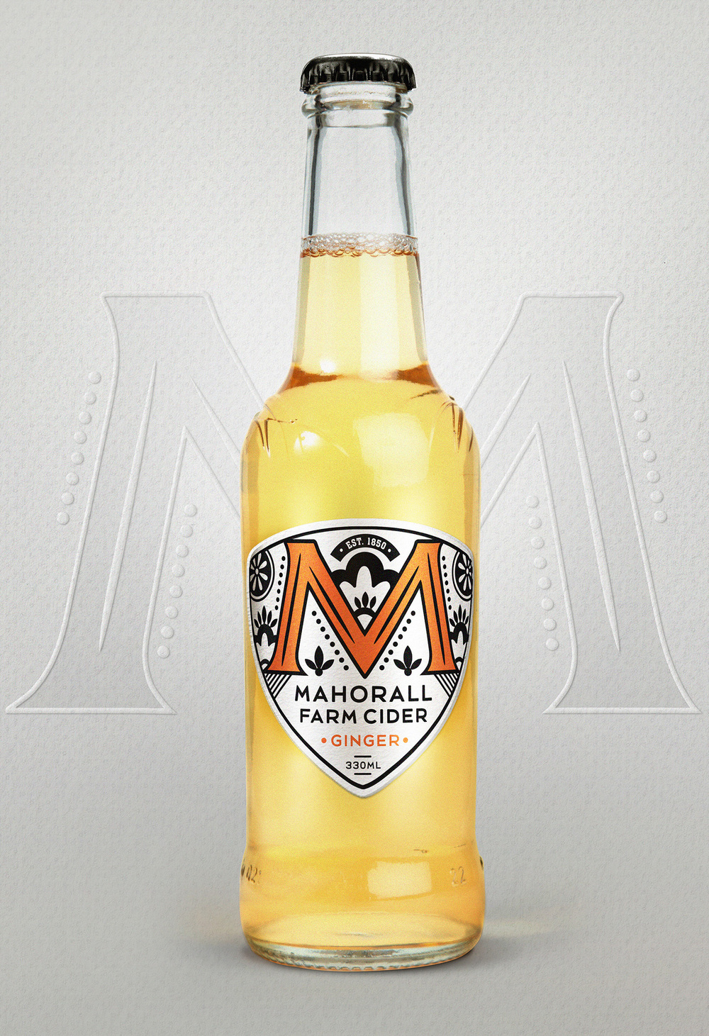 Alcohol cider branding and packaging design by Our Revolution