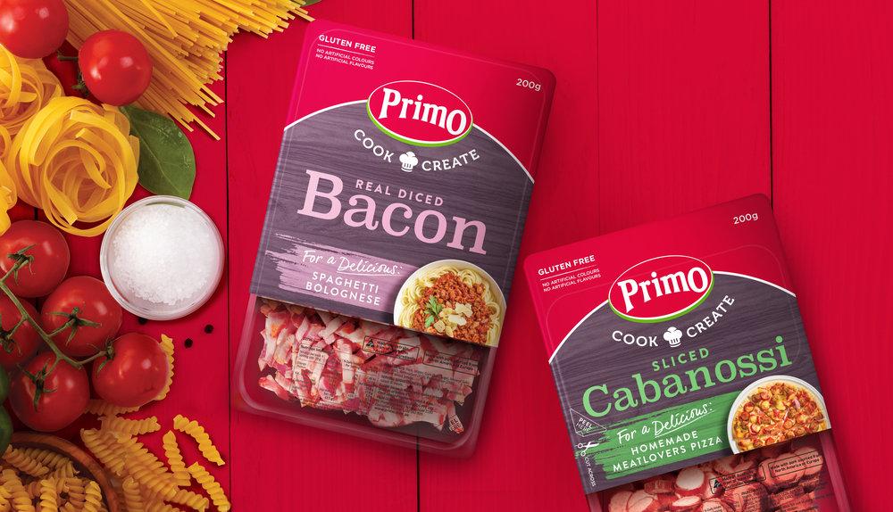 Primo Packaging Design Agency Brand Design Our Revolution Brand Logo Brand Strategy Brand Innovation Food Packaging Food Design Food Brand Food Branding Food innovation Packaging Innovation