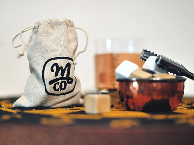 'Tis Whiskey season. Do your drinking right with #morrieandco whiskey stones - available now at morrieandco.com