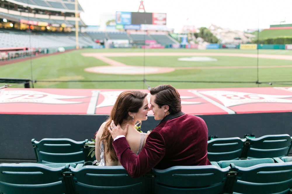 ANGELS STADIUM WEDDING