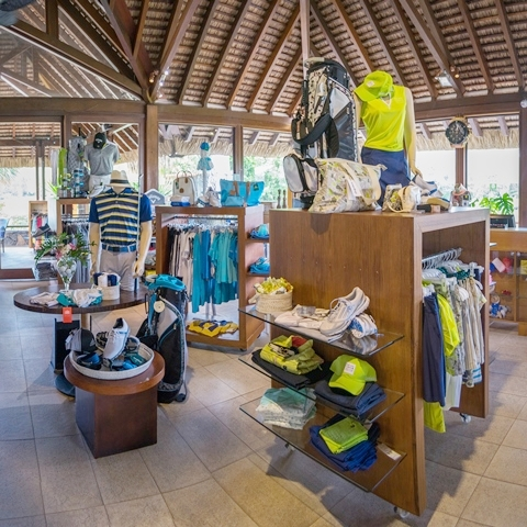 Golf Shop - Ile aux Cerfs Golf Club Mauritius