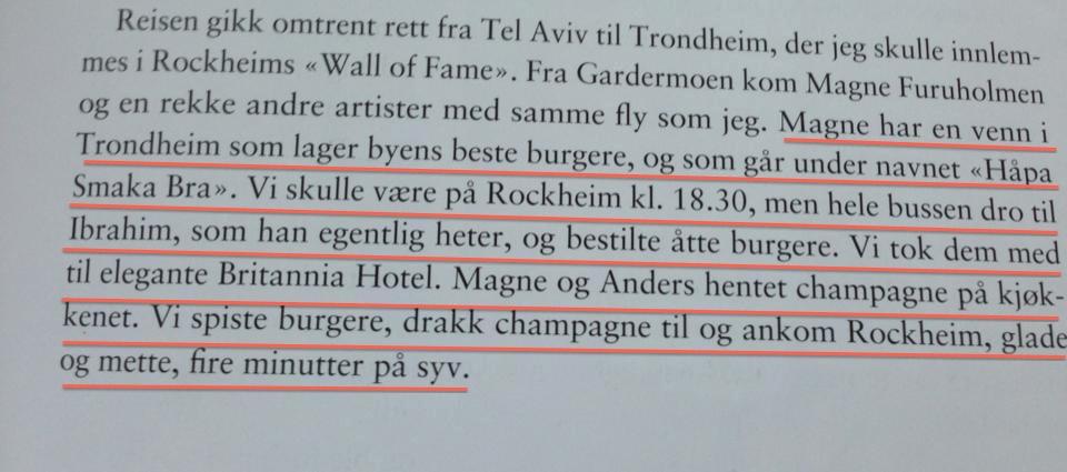 """Fra Wenche Myhres selvbiografi """"66"""""""