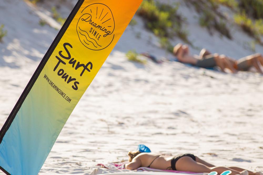 Golden beach days...
