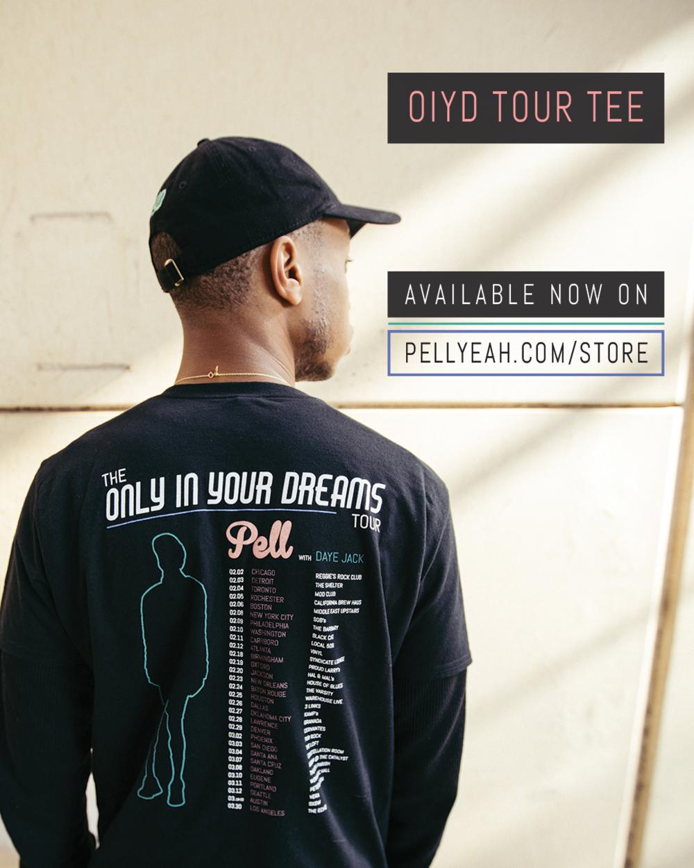 OIYD Tour Tee Facebook/IG Ad v1