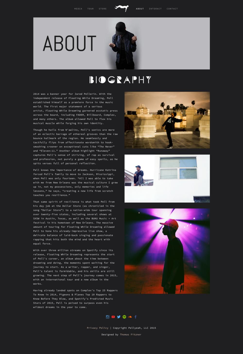 pellyeah.com About [Spring .16]
