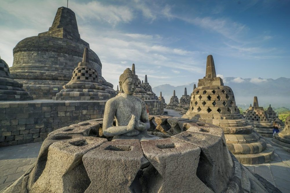 Borobudur temple, source : google