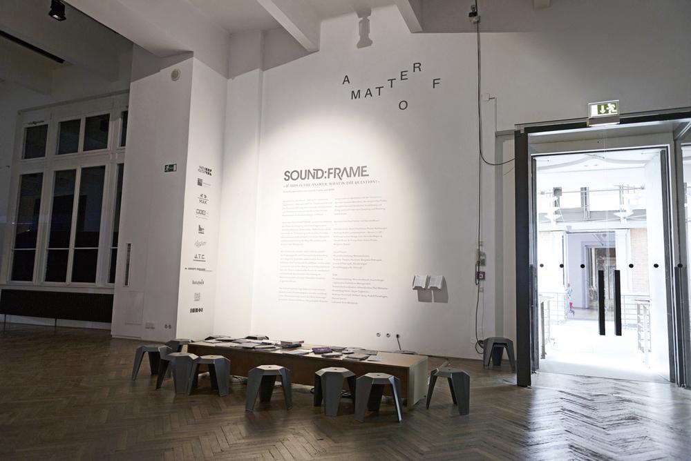 Sound:Frame Exhibition Design