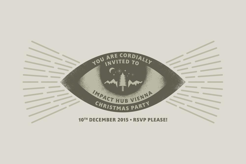 HUB X-MAS Invitation