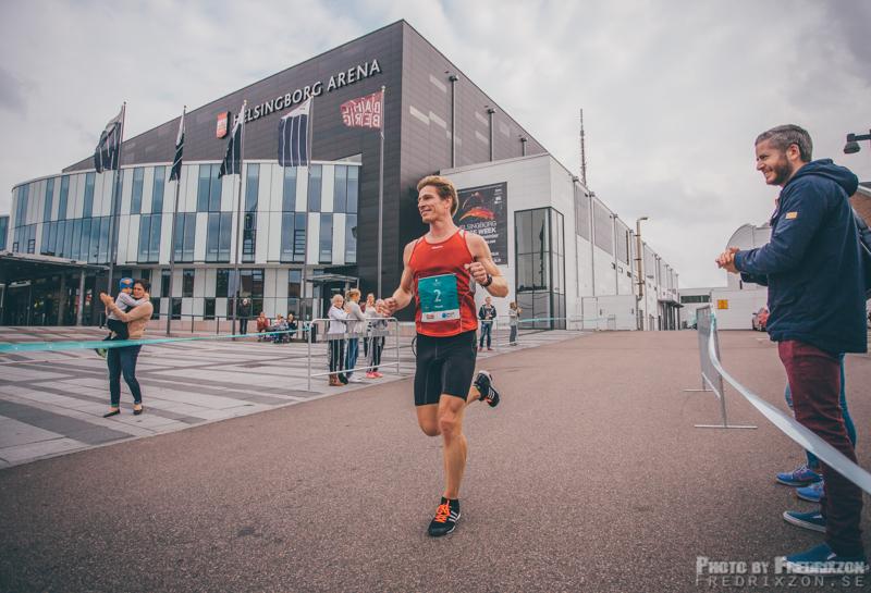 Årets vinnare i herrklassen blev Henrik Orre som även vann förra årets Helsingborg Marathon.