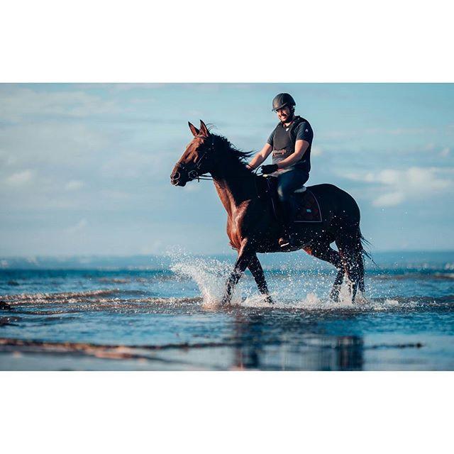 Detta var en häftig upplevelse 🐴#horse #horses #hästar #equestrian #dressage #hippson #dressyr #heste #pferd #ride #equestrianlife #häst #hästar #equine #esstockholm #beach #strand #horsephoto #stallkarlsborg #horsesofinstagram #canon #1dx 📸@rebecca93chopin