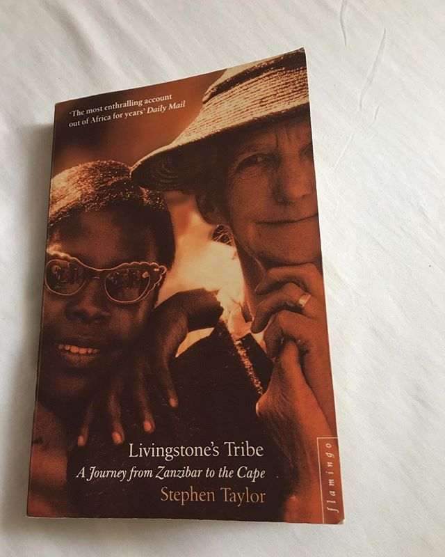 I stumbled upon this book at the one trusty bookstore I've found here in Mombasa. Stephen Taylor, born in South Africa, was an active journalist for decades, covering East Africa, South East Asia, Australia and Britain. Taylor had a lifelong fascination with David Livingstone, the Scottish missionary who helped put an end the East African Arab-Swahili Slave Trade. Taylor decided to navigate the same route Livingstone once traveled from Zanzibar to Cape Town. At the time this book was written, Taylor was a middle-aged, anti-apartheid, liberal dude — the tone of this travel diary is quite melancholy, with flashes of awe and nostalgia. He focuses on the white man's destructive influences on various East African nations over the last century. As a white traveler in this part of the world, it felt important for me to understand this history. Taylor has immense faith in the African tribal communities with whom he interacts, and proposes a hands off, respectful approach for those who wish to visit and/or provide aid in this region.