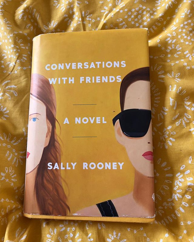 """Oof this was so fucking good. (And matches my new duvet cover, hayyy 🌞) Frances, the protagonist, is emotionally guarded and linguistically combative (she reminds me of all of academic/theorist types we all know who view conversation as a way to """"win"""" as opposed to connect.) Frances is involved in two intense relationships — one with her spoken word performance partner and only true """"friend"""" Bobbi, and the other with Nick, the attractive husband of Melissa, a slightly-famous author whose career and bourgeoise lifestyle is a point of both envy and repugnance for the Frances & Bobbi. Over the course of the novel, Frances discovers how to reconcile the ideological frameworks to which she subscribes as well as her emotional/physical needs. """"It felt good to be wrong about everything,"""" Frances realizes during a rare, uncomplicated, pleasant epiphany. Hell yes to that."""