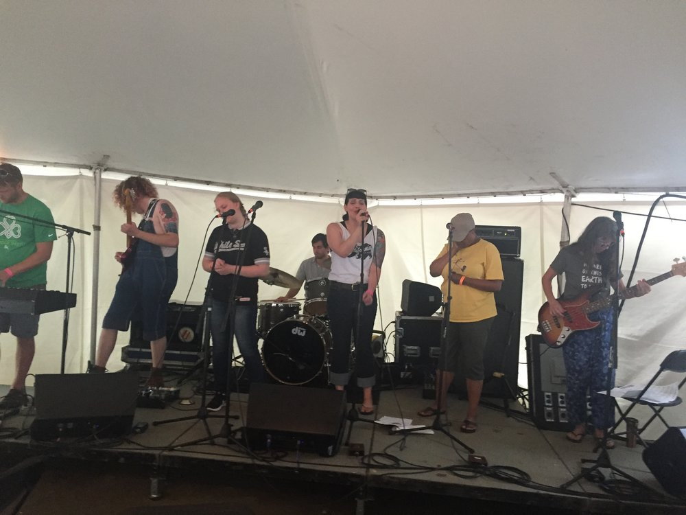 The Many at Wild Goose Festival, July 2016