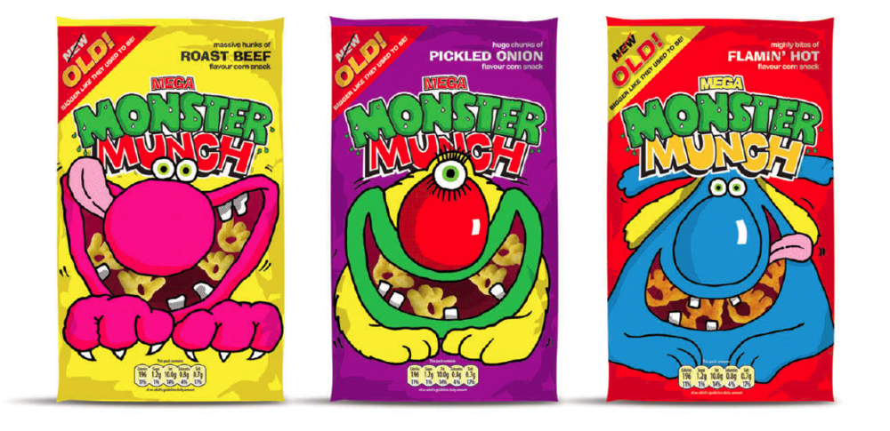 Standout were behind the 2007 relaunch of Monster Munch (when the really did get bigger again!) - helping the brand achieve significant growth within the categories.