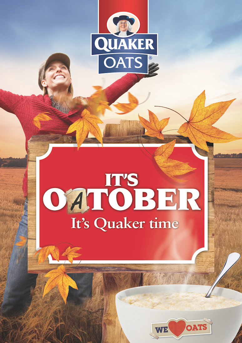 October's Oatober campaign to promote the consumption of porridge earlier in the year!
