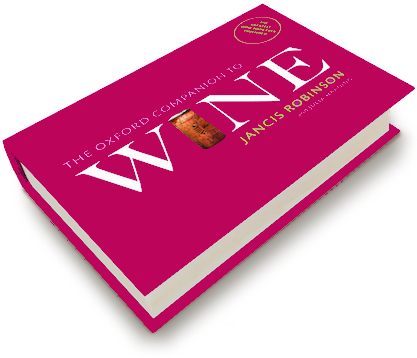 Oxford Companion to wine 4th edition cover
