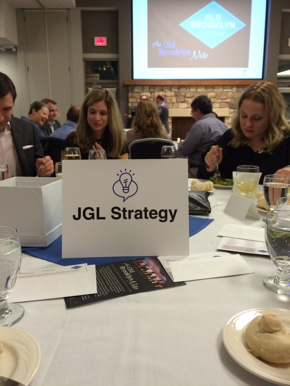 "JGL Strategy's first time as a Table Sponsor! At The Cleveland Metroparks Zoo for the Old Brooklyn Community Development Corporation's ""An Old Brooklyn Nite."""