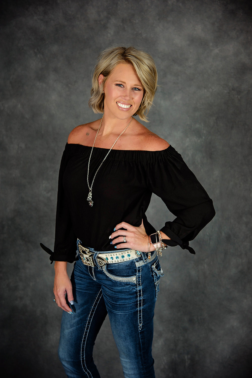 Karie Lacy, Owner of Gussied Up by Karie Michelle in South Lebanon, Ohio