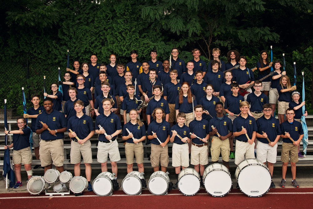 2018 Moeller MND Marching Band Thanksgiving 2018 Remember When Portraits