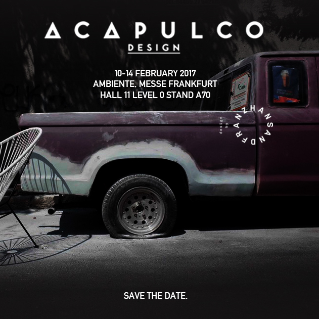Save the Date - Acapulco Chairs at Ambiente Messe