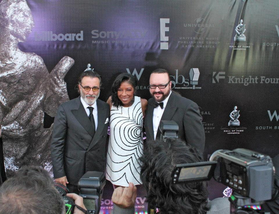 Rudy Perez, Natalie Cole, and Desmond Child