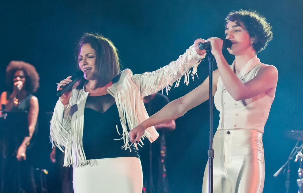 Gloria and Emily Estefan