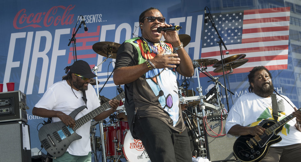 The Wailers at Fire on the Fourth 2017