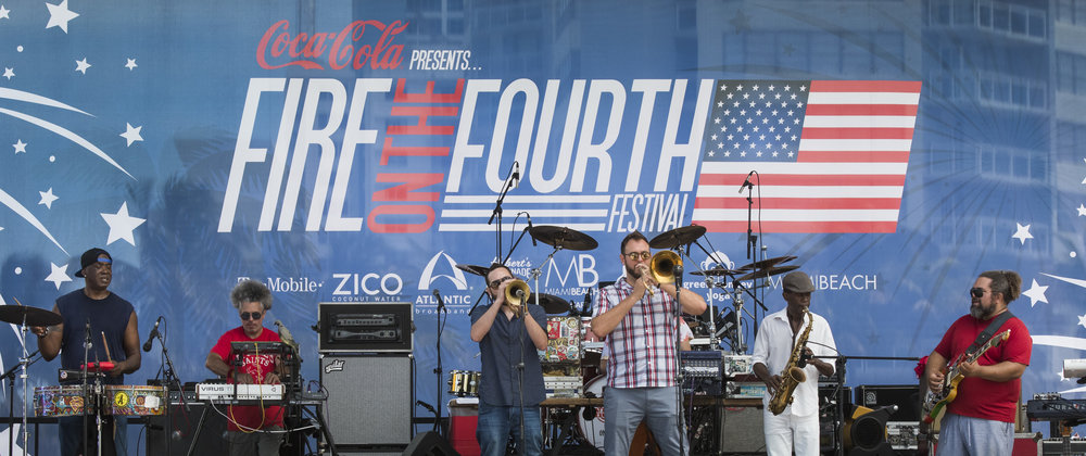 Inner Cirlce at Fire on the Fourth 2017