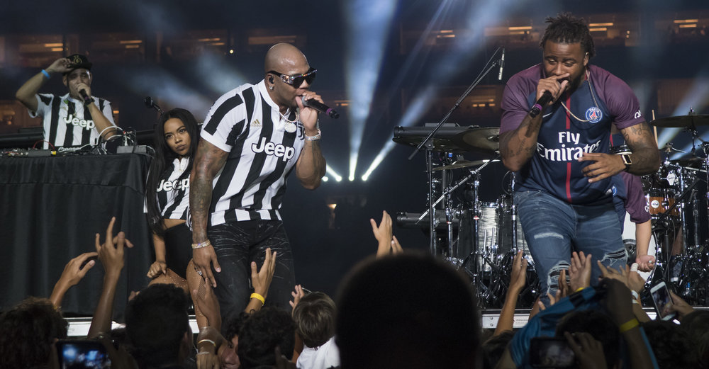 flo rida and sage the gemini miami psg vs juventus