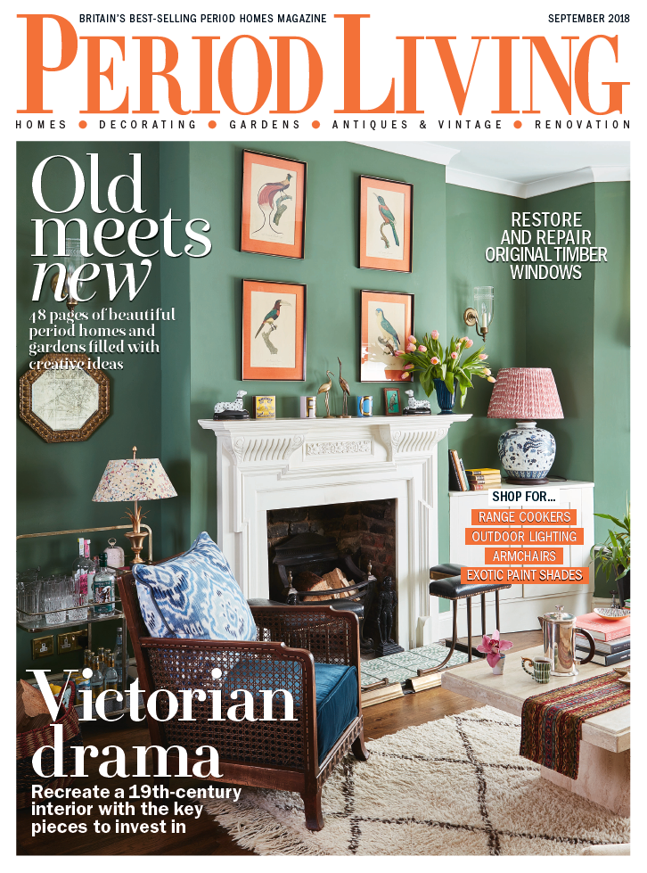 Front Cover | Period Living | September 2018