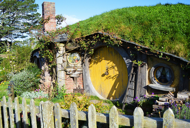 The hobbit hole of Samwise Gamgee