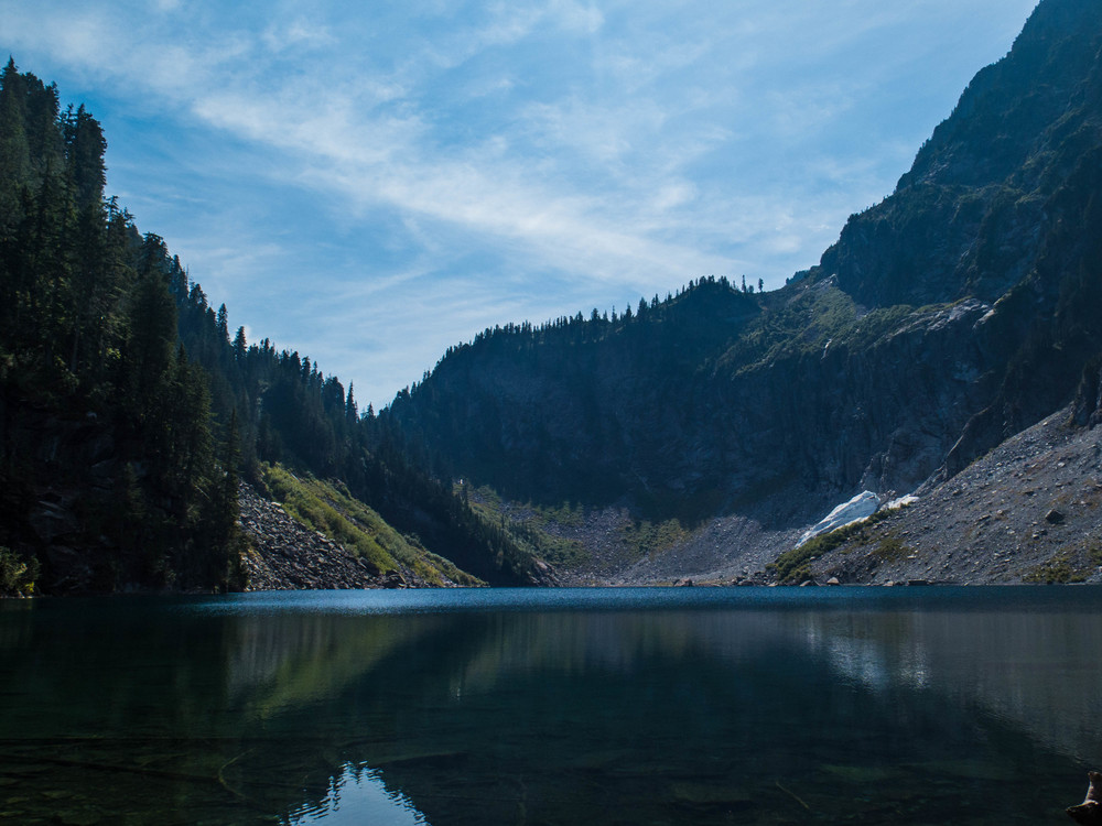 Lake Serene on a sunny August morning