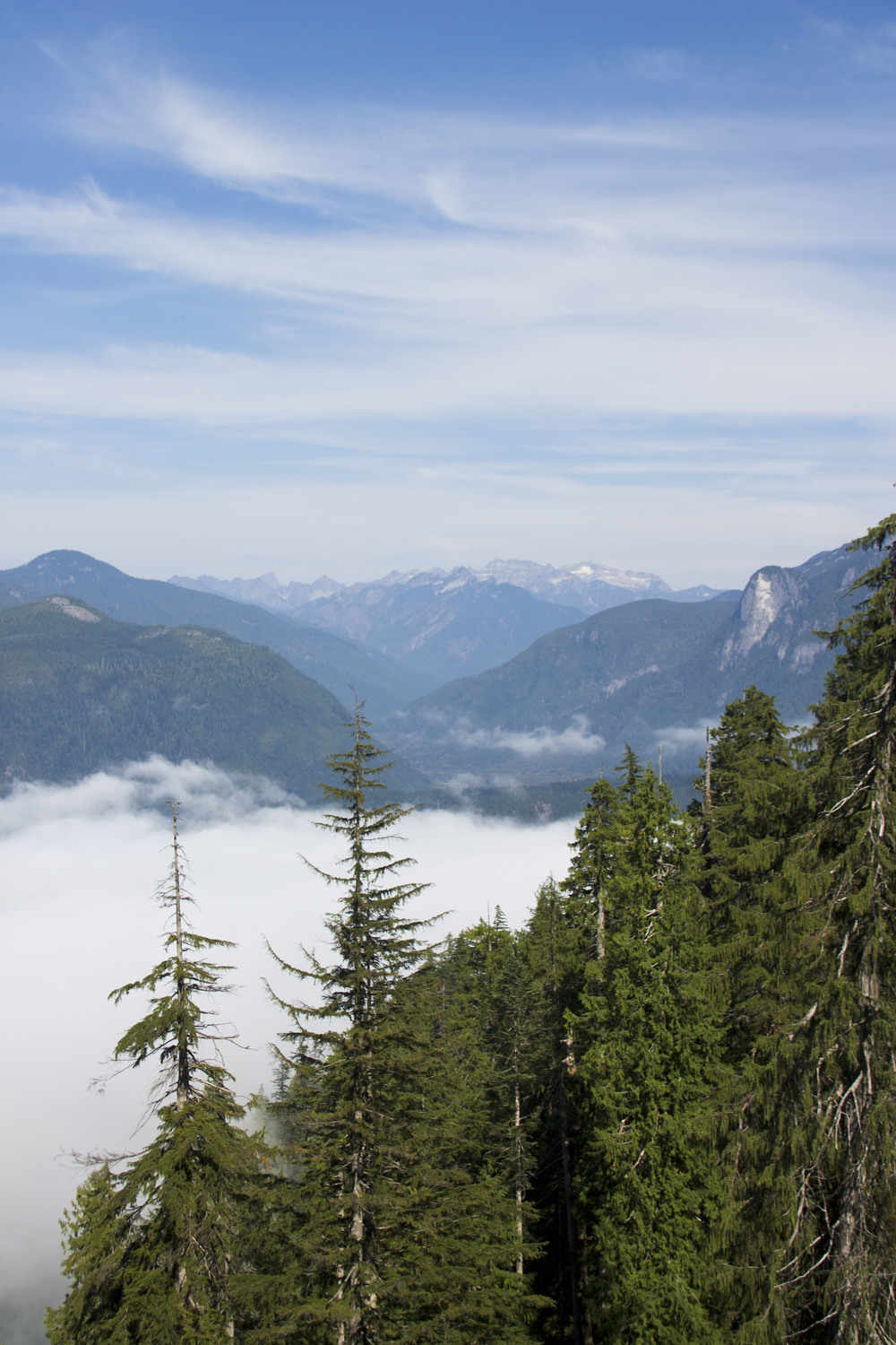 Low clouds filling the valley in 2013